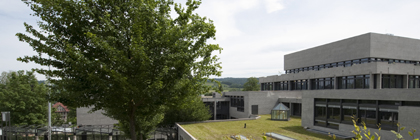 Main building of the University of St.Gallen